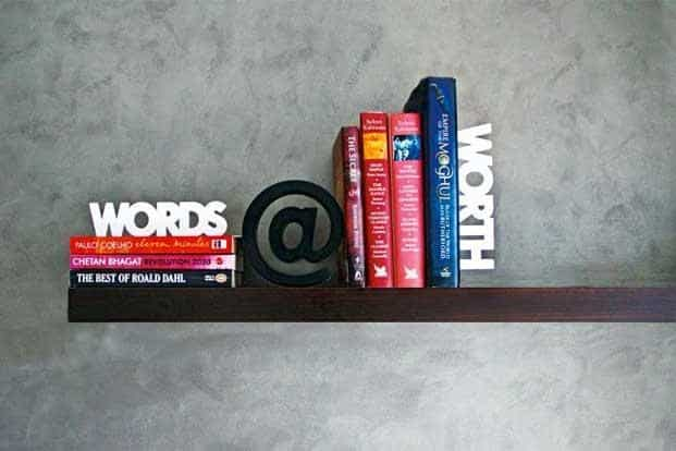 Words Worth: Bookends by Random in Tandem, at www.randomintandem.com; www.yellowtrunk.com; and Pallate Design Studio, Mahalaxmi, Mumbai, Rs2,550.