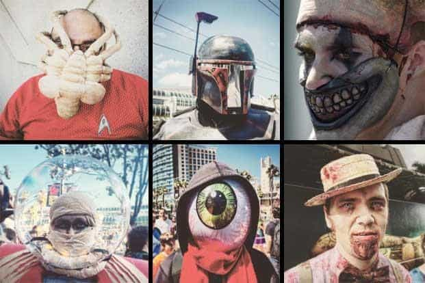 The different faces of Comic-Con 2015. Zombies, superhero movies were the big highlights at San Diego's Comic-Con this year. The convention's 130,000 comic book and pop culture fans were also treated to a smorgasbord of experiences, surprises and scares. AFP