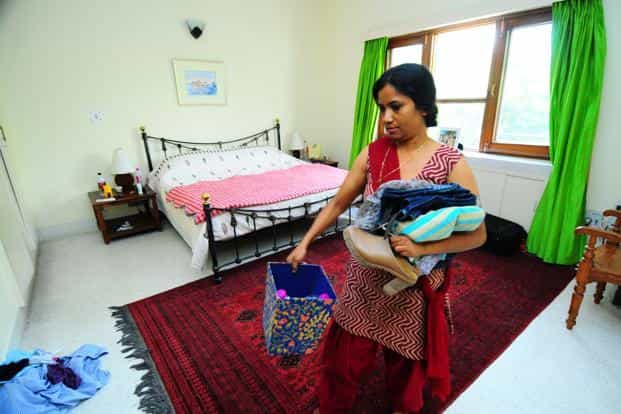 For most people, household help are just objects at best, invisible people at worst. Photo: Pradeep Gaur/Mint